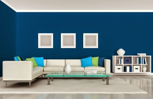 blue-living-room-color-schemes-modern-living-room-color-schemes-blue-wall-paint-white-furniture-with-green-touch