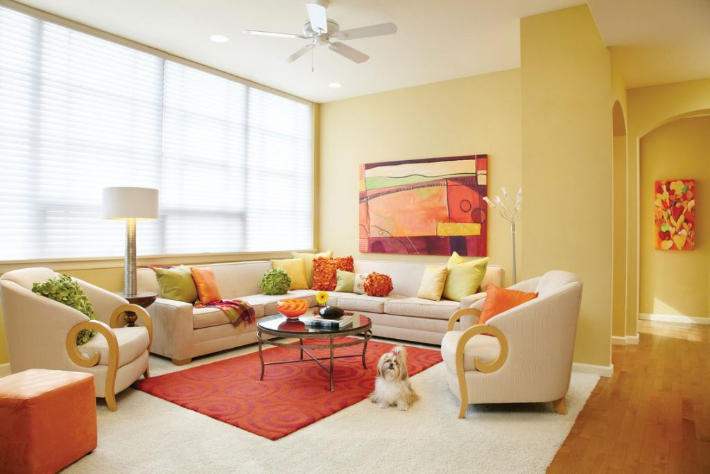 Condominium Interior Color Design