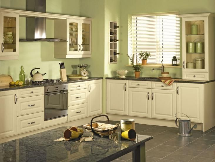 Fascinating-Green-Paint-Colors-For-Kitchen-Walls-46-With-Additional-Furniture-Design-with-Green-Paint-Colors-For-Kitchen-Walls