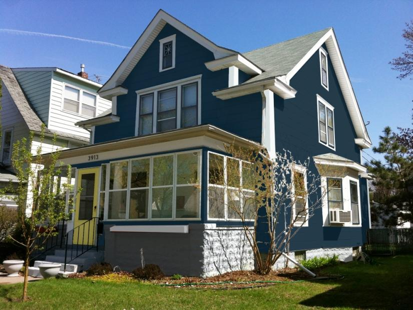 Nice-Navy-Blue-Paint-For-Home-Exterior